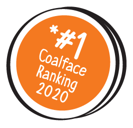 * #1 Coalface Ranking 2020